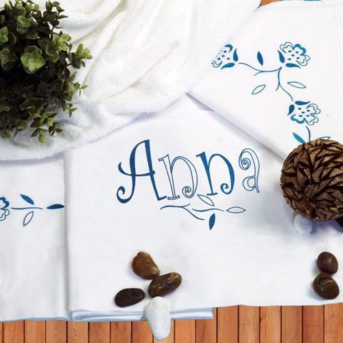 sábanas bordadas para cama de 90cm
